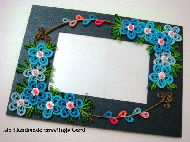 Lin Handmade Greetings Card | Quilling | Pinterest | Quilling ...