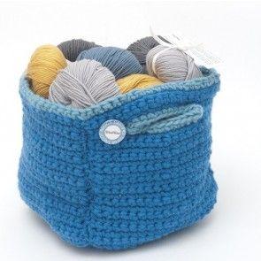 Kit crochet by WoolKiss : Le cabas arty d'Isabelle Kessedjian