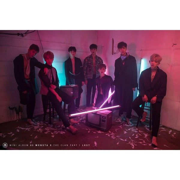Update MONSTA X Reveals Highlight Medley For Upcoming Album ❤ liked on Polyvore featuring monsta x