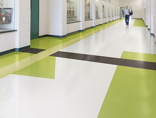 Johnsonite Arcade Tonal Rubber Sheet Flooring Ideal For