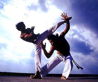 Watch Capoeira videos and read more about this amazing martial art at: http://budospace.com/category/martial-arts/brazilian-martial-arts/capoeira-brazilian-martial-arts/