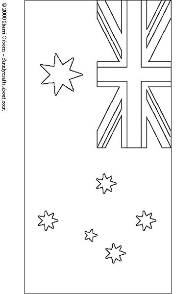 australia day craft coloring pages - photo#18