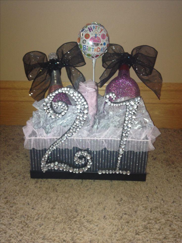 21st birthday gift for girls!