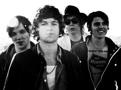 The Kooks....awesomesauce live too :D Luke sang at me a couple times so basically I melted into a puddle on the floor