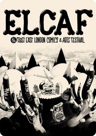 sComics Art, East London, Art Festivals, Festivals Posters, Graphics Design, London Comics, Artists Mcbess, Computers Art, Art Illustration