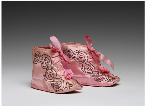 Baby shoes 1800-1830