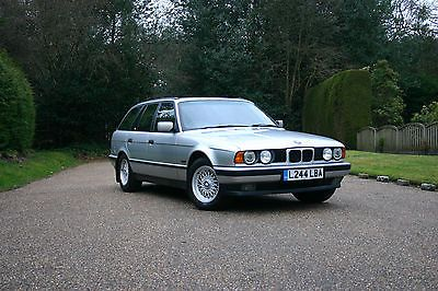 """eBay: 1994 """"L"""" BMW 520i SE Touring E34 2 owners (Dealership, then Family for 22 years) #classiccars #cars"""