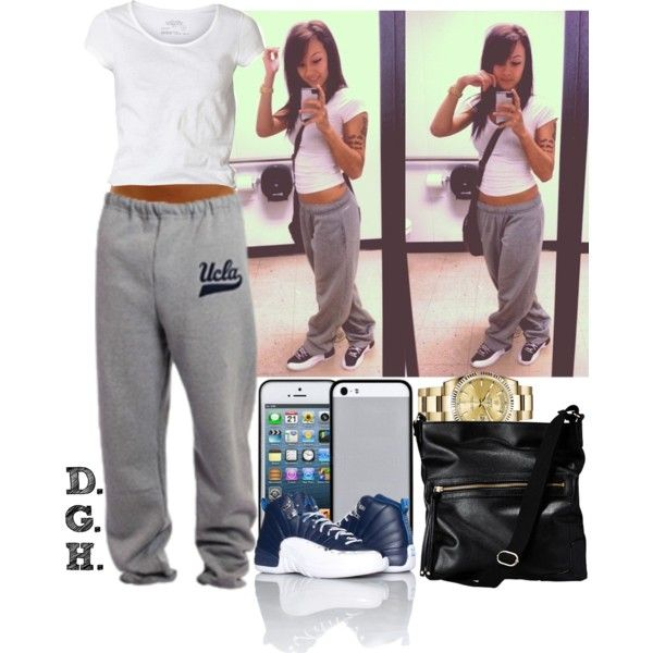 UCLA Chill. created by dopegenhope on Polyvore | Clothing Ideas | Pinterest | The sweat Lazy ...
