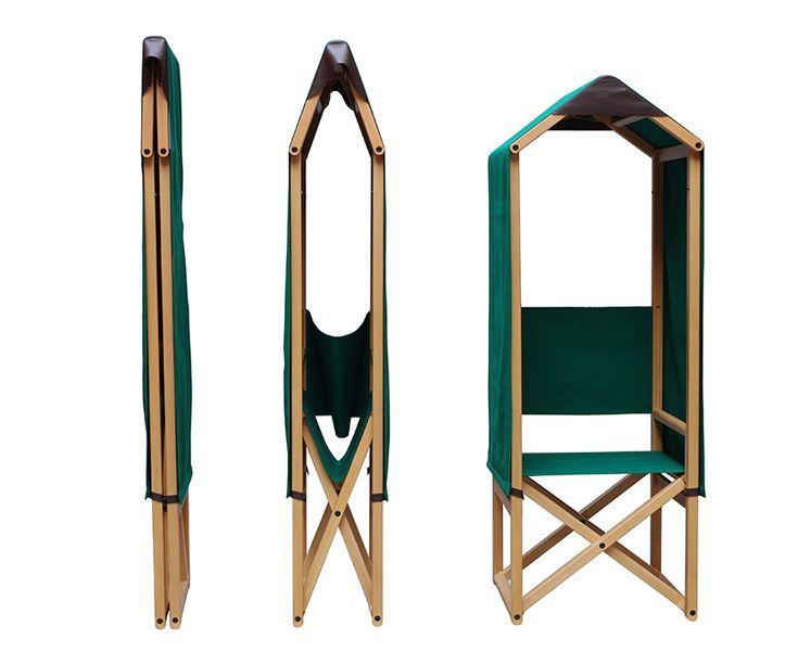 """Rolo, silla plegable diseñada por giulio iacchetti, fabricada por bed living e internoitaliano, 2013. """"Un nuevo sistema de producción y venta para el diseño Italiano contemporáneo que lo lleva al mercado mundial a través de internet"""" + info en catalogodiseno.com"""