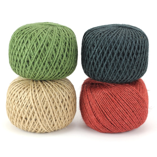 colored jute twine | materials | Pinterest
