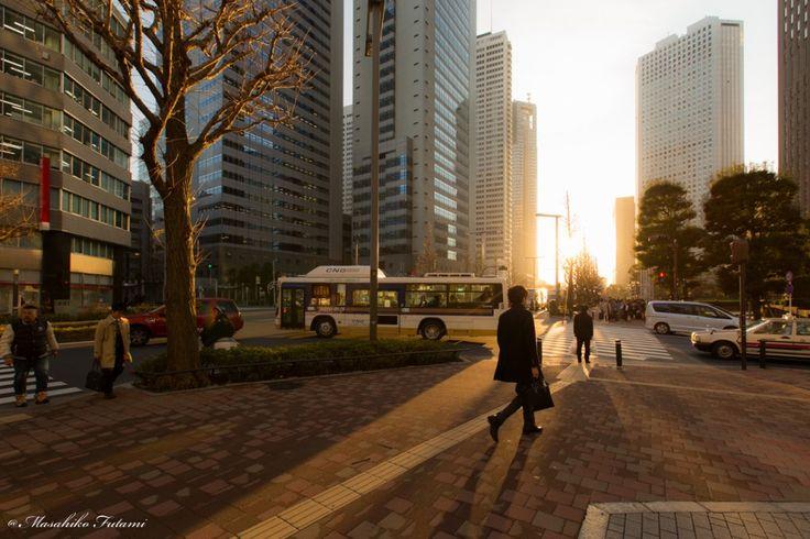 People on the Street / ストリートの人々   Photographer Masahiko Futami / 写真家 二見匡彦