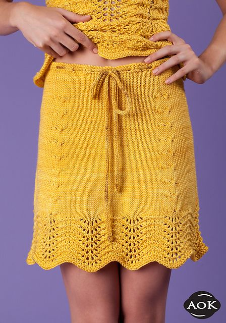 Sunflowers Skirt Pattern By Heather Dixon Skirts Yarns