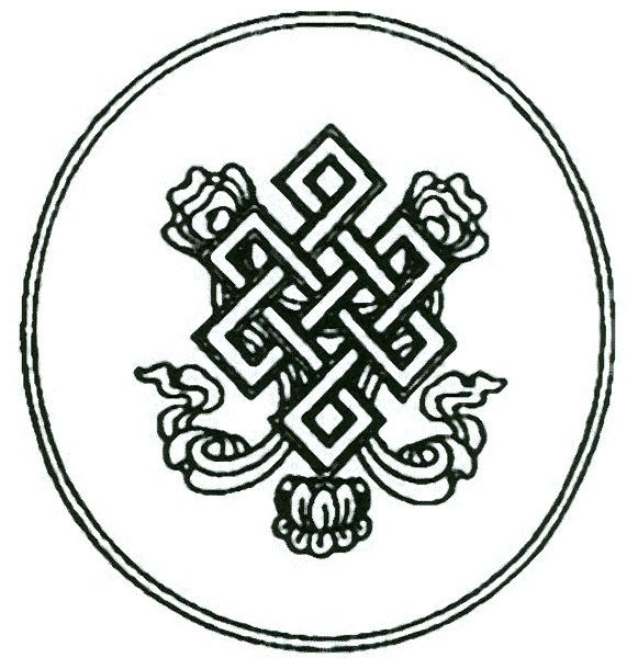 12 best images about endless knot on pinterest buddhism for Karma symbol tattoo