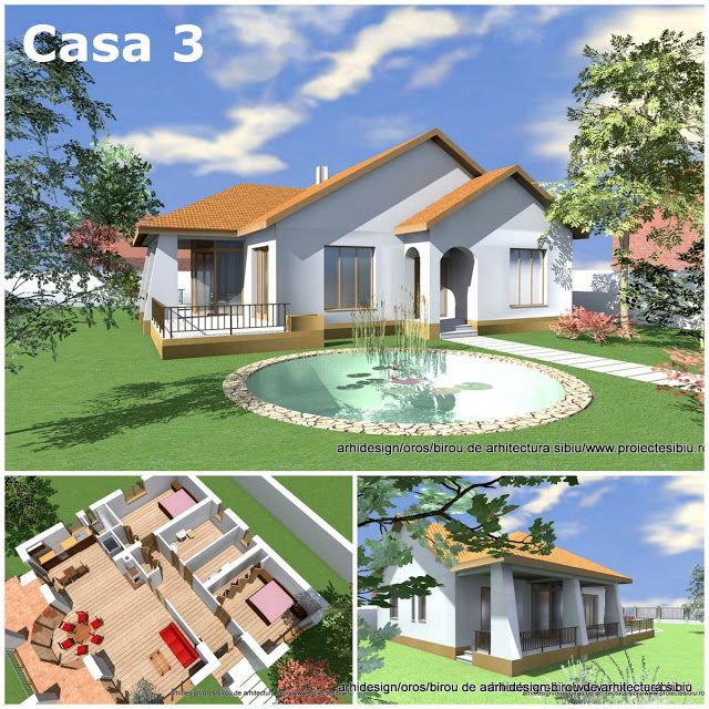 Case Arhidesign: Proiect casa parter - model 03