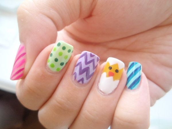 60 best easter nail art images on pinterest nail scissors 10 easter nail designs youll want to try this weekend sciox Images