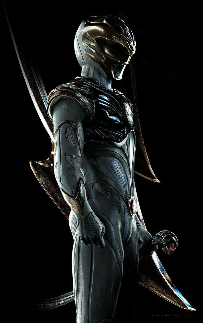 White Ranger! by CarlosDattoliArt.deviantart.com on @DeviantArt