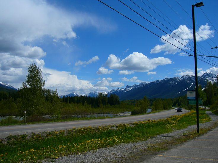 Rocky Mountains near Kimberley and Cranbrook, BC.