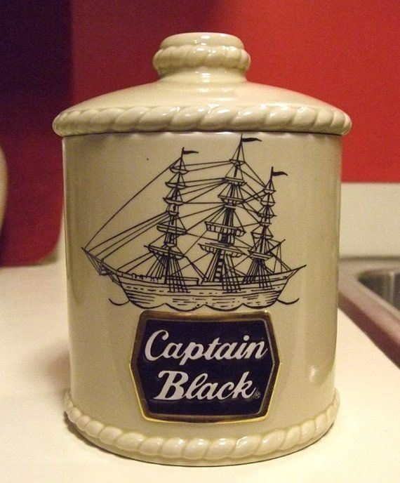 Vintage Captain Black Pipe Cigar Tobacco by MarksVivaLaVintage SOLD SOLD SOLD