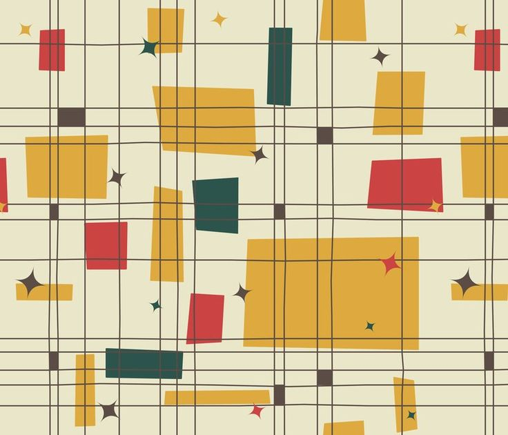 Wallpaper Shop For Wallpaper By Indie Designers Spoonflower Mid Century Modern Patterns Mid Century Modern Wallpaper Mid Century Modern Fabric