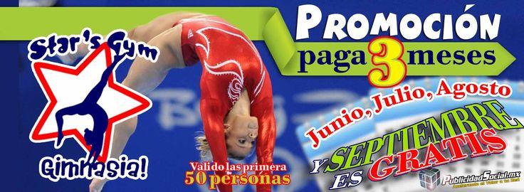 Promoción de Verano  Gimnasia Artistica de Ciudad Obregon  Star's Gym