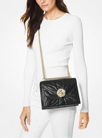 9492a13cbf1969 Whitney Large Petal Quilted Leather Convertible Shoulder Bag ...