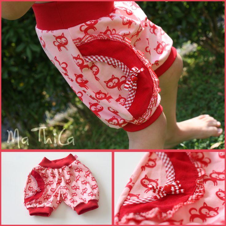 Hose für Baby/Kinder - kostenloses Schnittmuster - free pattern