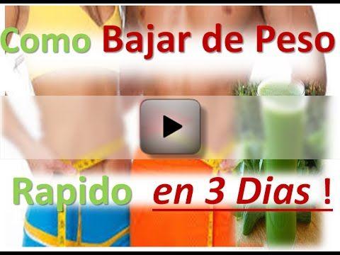 Adelgazar,Salud &BienEstar: Como Bajar de Peso Rapido en 3 Dias - como adelgaz...