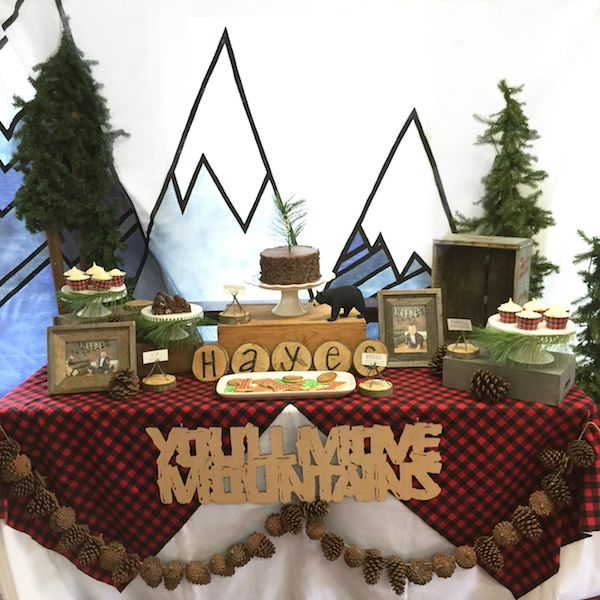 Lumberjack Themed 1st Birthday Party Quot You Ll Move