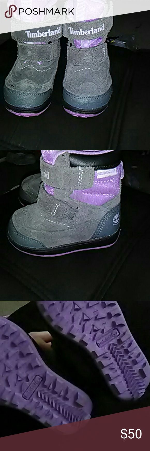 Size 5 infant timberland boots Waterproof timbs brand new never worn cones from a smoke and pet free home Timberland Shoes Boots