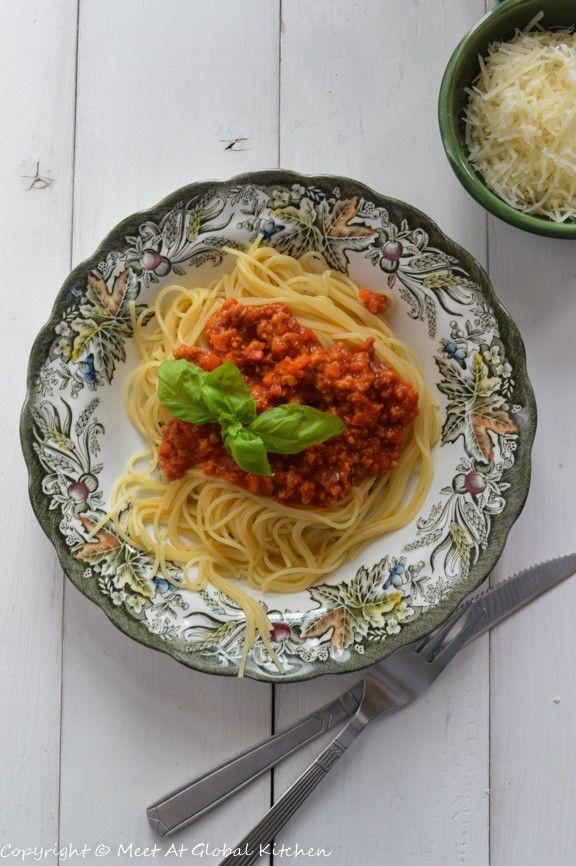 итальянский томатный соус для спагетти  Italian tomato sauce for spaghetti