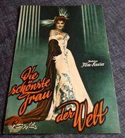 """Altes IFK-Filmprogramm - GINA LOLLOBRIGIDA In """"Die Schönste Frau Der Welt"""" Mit Vittorio Gassman ... - 180598 - Magazines"""