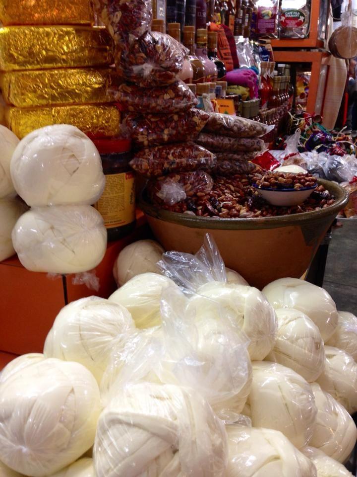 Quesillo de Oaxaca, mhhhh! Una delicia!