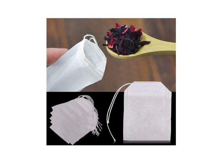 Prázdné čajové sáčky 100 ks. Prázdné sáčky pro Vaše čajové směsi.