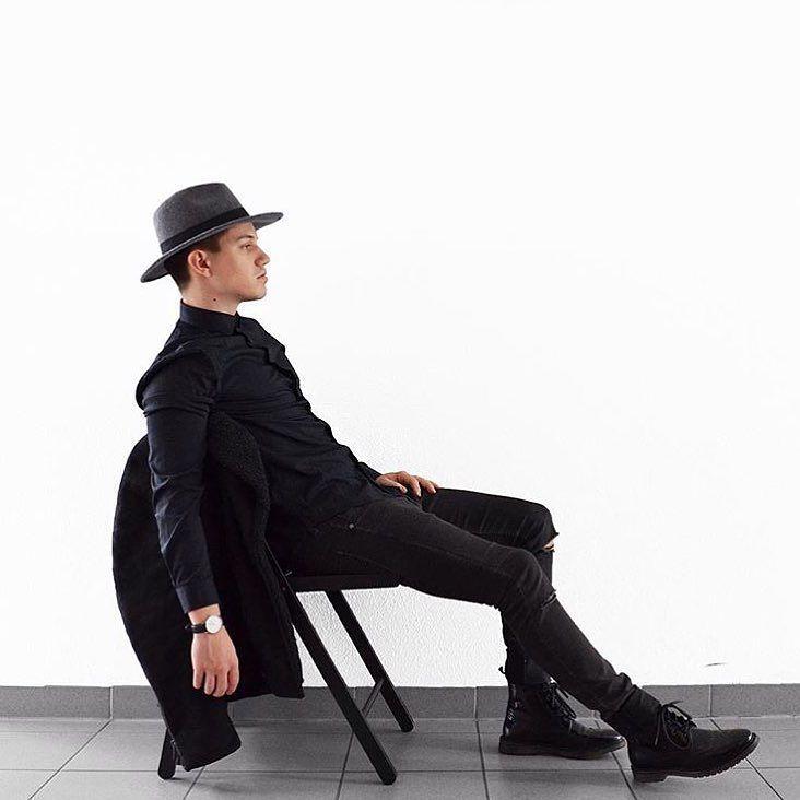 When in doubt wear black. (Photo via @Ennemi_) #danielwellington by danielwellington - Coming soon to Grace & Co