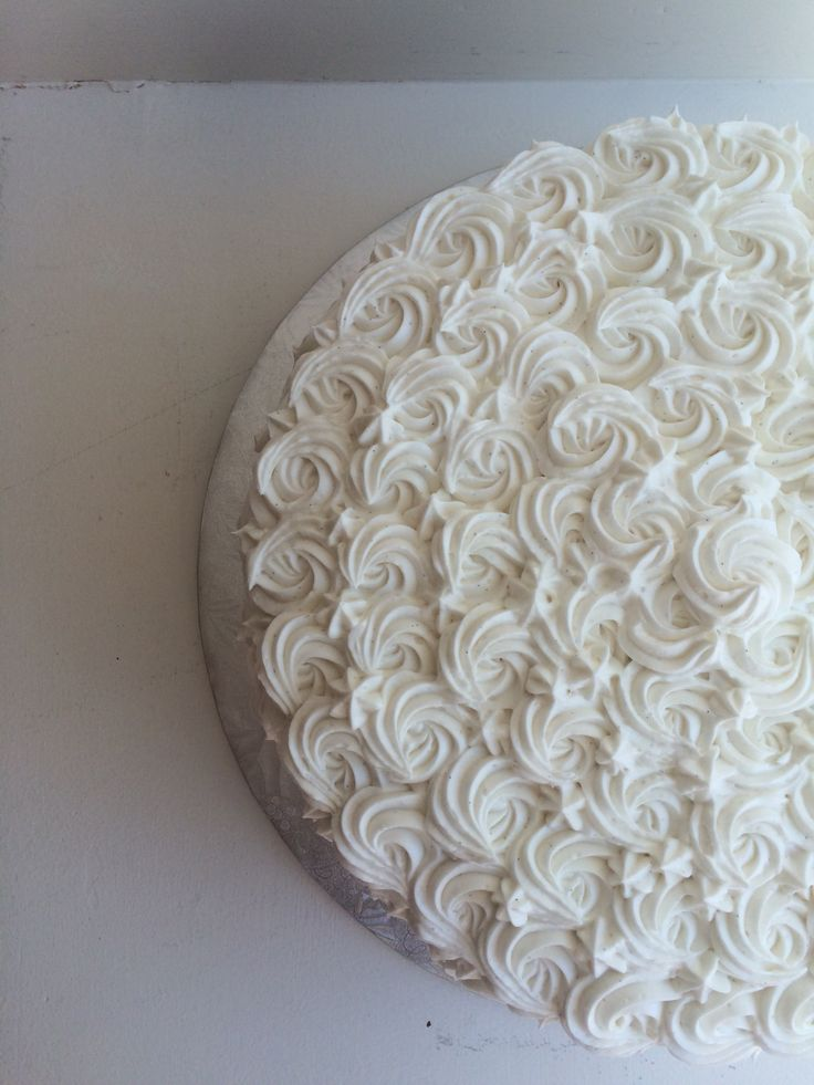 "Gorgeous 10"" Rosette cake! Custom cakes available for all occasions. #kellystribe #cakes"