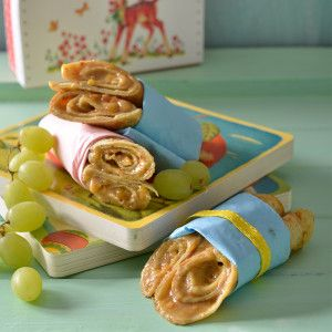 Peanut Butter and Banana Pancakes #Kids #Lunchbox #SouthAfrica
