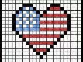 рисуем, клеточкам, сердце, рисуем клеточкам, рисуем сердце.