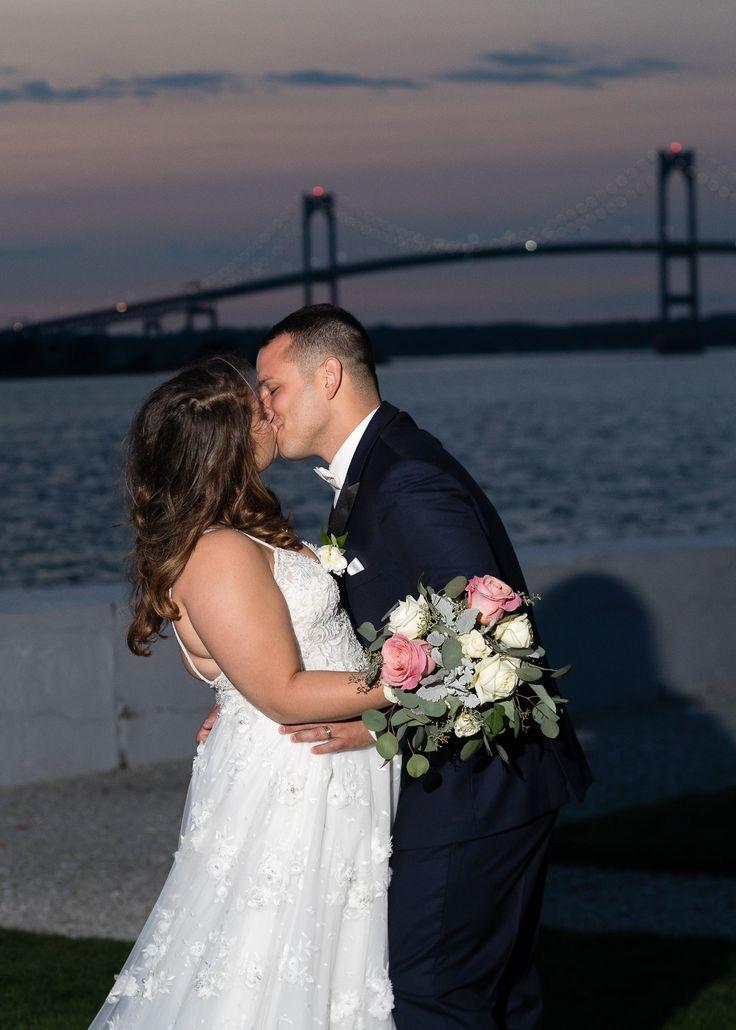 A stunning summer wedding at belle mer a longwood venue