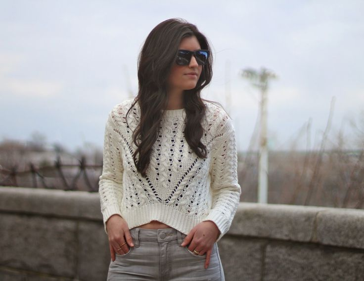 Neoteric Essentials: Gray Ripped Skinnies