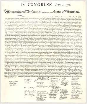 Drafted by Thomas Jefferson between June 11 and June 28, 1776, the Declaration of Independence is at once the nation's most cherished symbol of liberty and Jefferson's most enduring monument.