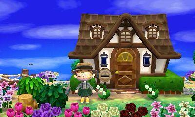 Exterior Animal Crossing Pinterest