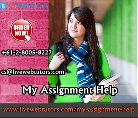 Livewebtutors is one of the major platforms for students & tutors in order to provide the My Assignment Help to college students across the globe. Our expert writers are available for online support to students & to satisfy their educational requirements. We provide Online Assignment Help Australia.