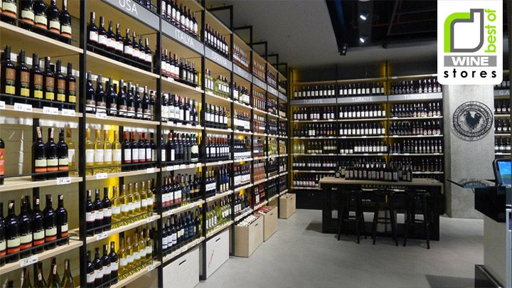 WINE STORES! Kavistanbul wine store, Istanbul