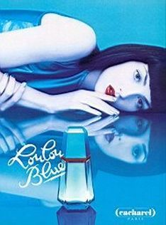 LouLou Blue perfume.  From the 90's