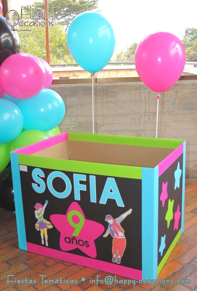 Caja para los regalos www.happy-occasions.com