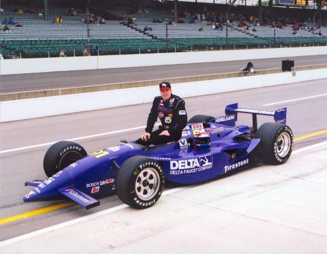 Buddy Lazier, winner of the '96 Indy 500