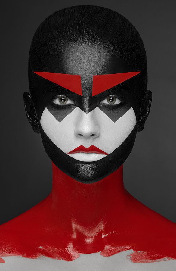 geometry makeup on Behance✖️More Pins Like This of At FOSTERGINGER @ Pinterest✖️