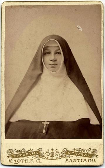 Chilean nun. 1890s