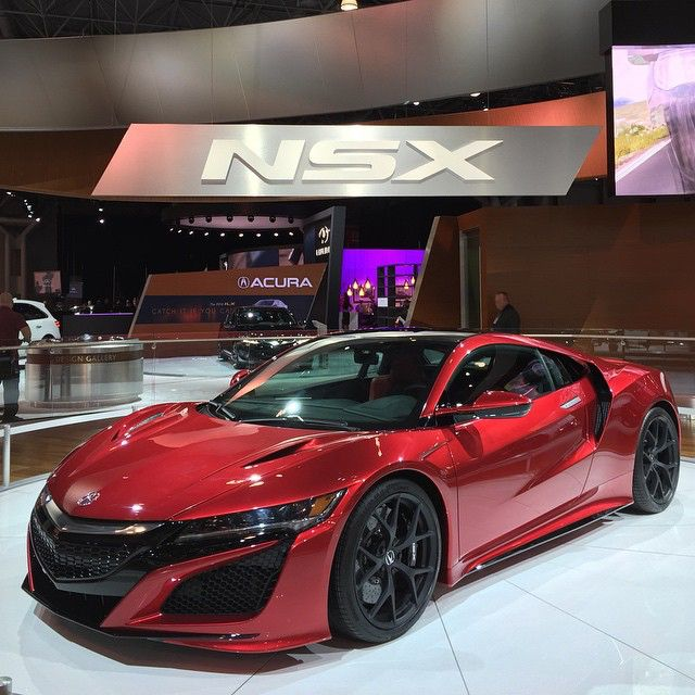 NSX #NYIAS LIVE #CarLifestyle