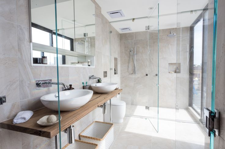 This Stylish Bathroom Appeared On The Block Fans Vs Faves It Features The Digi Marble Pearl